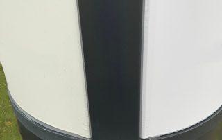 Litfassäule pulverbeschichtet